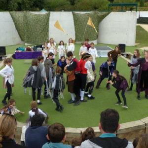 Macbeth @ Brighton Open Air Theatre Summer Workshop and Show